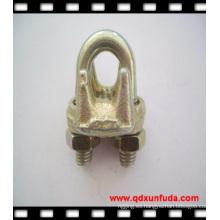 Abrazadera del cable utilizada para cables de acero