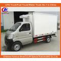 1ton Frigorífico Van Caminhão em Mini Caminhão Refrigerado Compacto