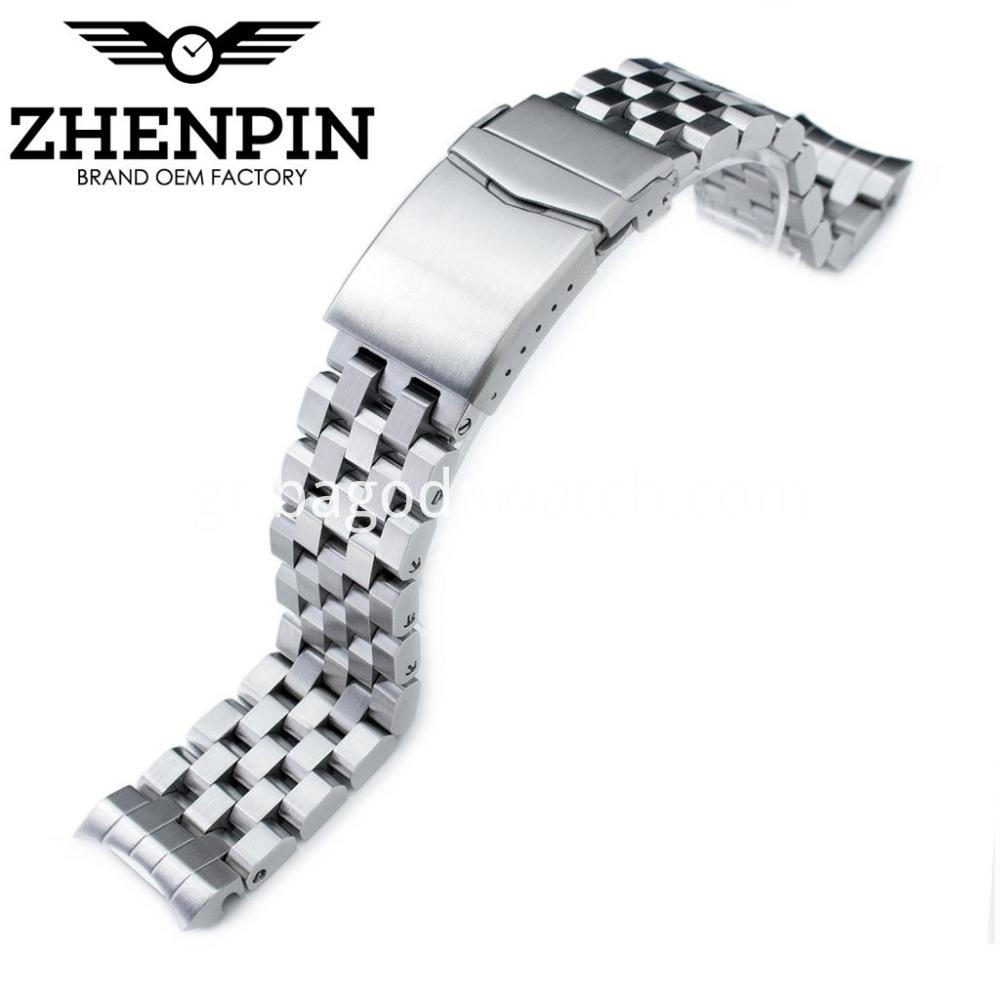 Men Metal Watch Band