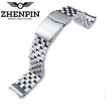 22mm 316L stainless steel watch band untuk pria