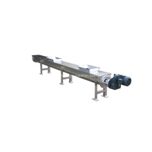 Powder flexible screw conveyor