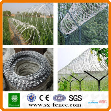[Anping Factory] Hot Dipped Galvanized BTO-22 Concertina Razor Wire