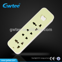 Universal smart design electric extension socket with apple switch