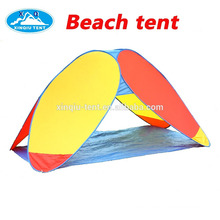 Colourful design pop up beach tent