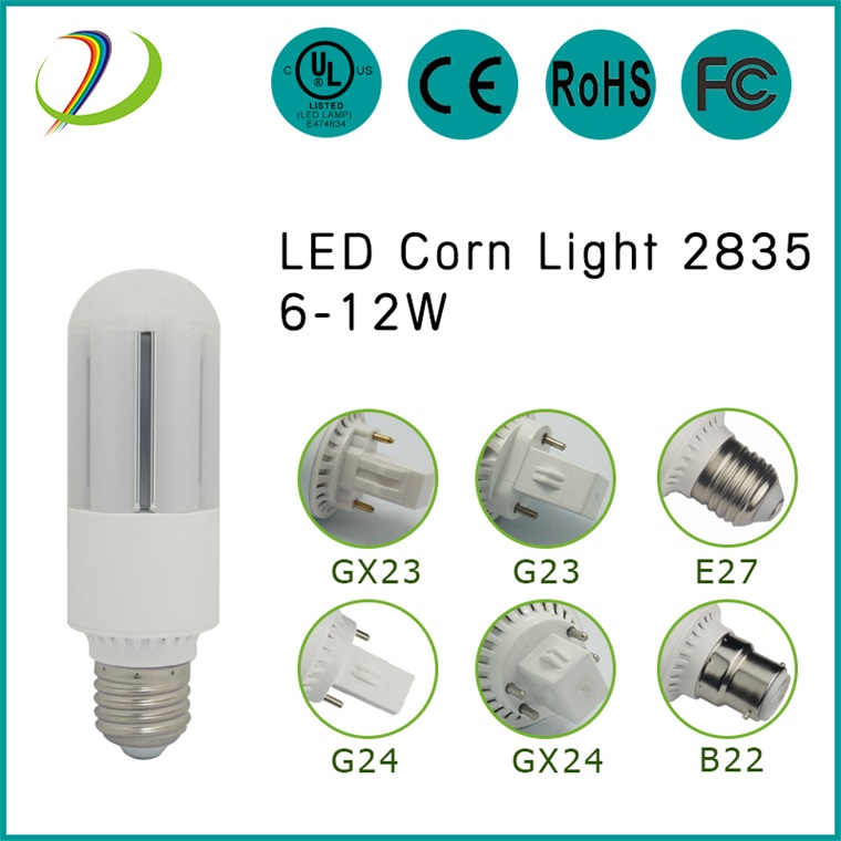Epistar 2835 smd 6w Led Corn Bulb