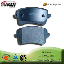 Semi-metallic car brake pad for Audi  S5 Rear 2008