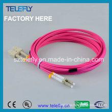 Cable de cable de conexión Sc-LC Om4