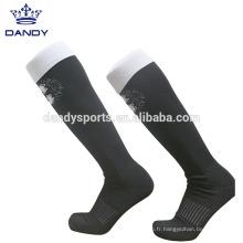 Équipe de rugby personnalisée sur les chaussettes de genou