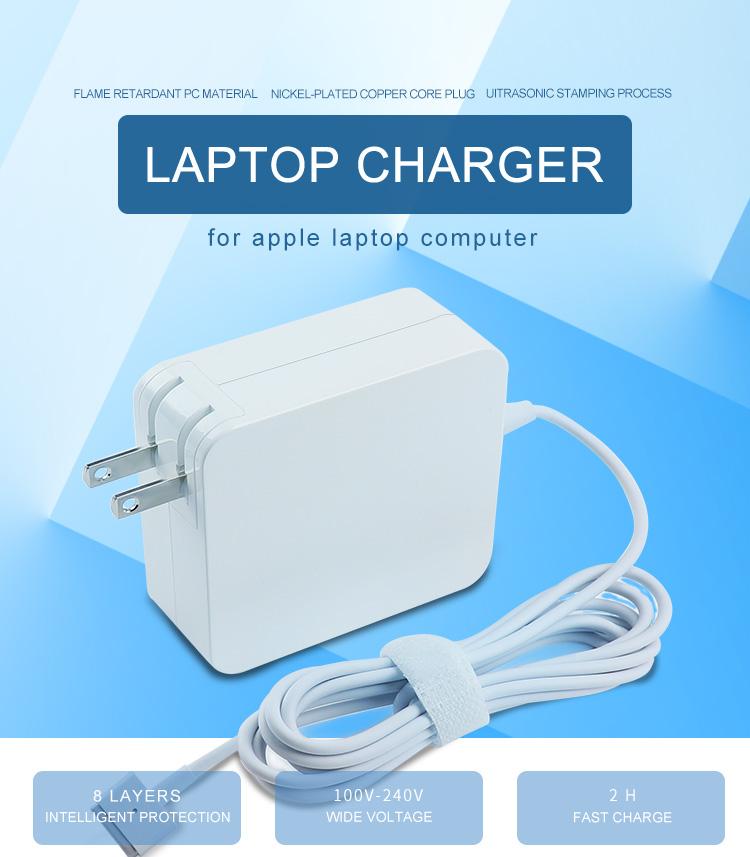 45WT US plug MacBook charger