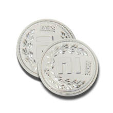 China Factories for Silver Plated Coin Custom Silver Coin for Souvenir Real Silver Coin supply to Japan Manufacturers