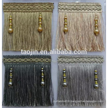 Curtain Beaded Brush Fringe