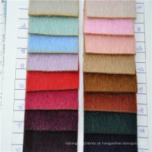 lã de ovelha de alta qualidade e alpaca misturado tecido para mens e mulheres casaco