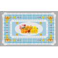 Hot Popular todo en uno diseño independiente LFGB transparente impreso mantel 90 * 145 cm (TZ-0030B)