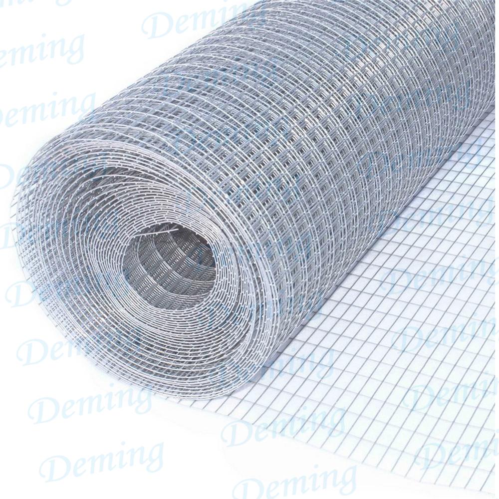 Verzinkter und PVC-beschichteter geschweißter Maschendraht