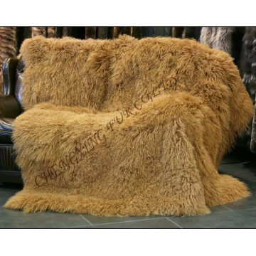 Real Mongolian Lamb Fur Carpets And Rugs
