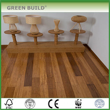 Horizontal chocolate color 15mm solid bamboo flooring