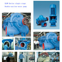 Double Suction Wheel Split Casing Pump