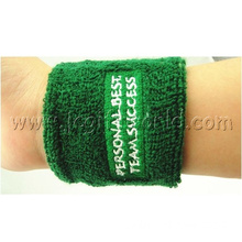 Custom Cotton Wristband Jacquard Sweat Band for Sport