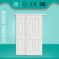 JHK-004 Laminate Door Panel 4 Panel Arch Sliding Door