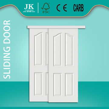 JHK-4 Panel Double Swing Interior Solid Rosewood Door