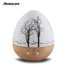 Aromacare Hot Produkt Mini Ei Holz 150ml Holz Glas Aroma Diffusor 20071