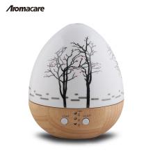Difusor de vidro de madeira 20071 do aroma do vidro 150ml da madeira do ovo do produto quente de Aromacare mini