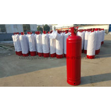 40L Red Acetylene Cylinder Tanks with Valves & Valve Guards