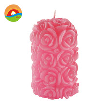 Wholesale high quality christmas candle art gift candle