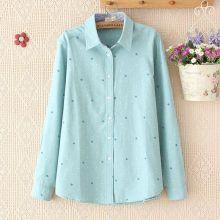 Linen/Cotton Fashion Blouse for Lady