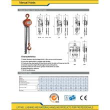 0.5t to 50t Manual Hoist Machine