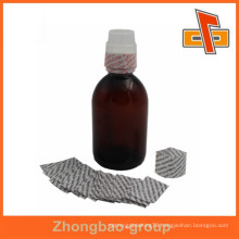 customized PVC bottle cap shrink sleeve with high quality printing