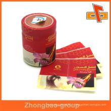 Guangzhou fabricant d'emballages thermorétractable étiquette en plastique les plus grandes entreprises d'impression