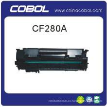 Cartucho de tóner compatible CF280A para HP Laserjet M401d / M401n / M401dn / M425dn / M425dw