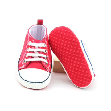 Quanlity Bright Red Unisex kids Casual Shoes Wholesales