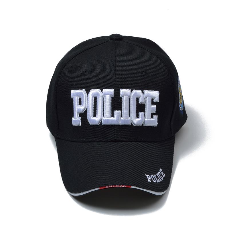 Police Baseball Embroidery