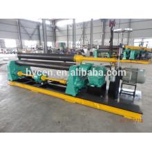 Máquina de laminación de placa mecánica w11-16 * 3000 / máquina de doblado de placa de rodillo