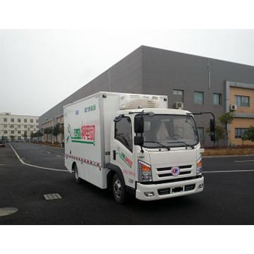 Guaranteed 100% Pure Electric Refrigerated Van Truck