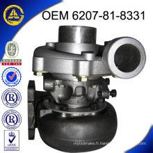 Pour PC200-6 6207-81-8331 700836-5001 TA3137 / T300 turbo de haute qualité