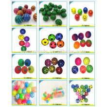 Venda a quente Vário Design Promotion High Rubber Bouncing Ball Toy for Kid