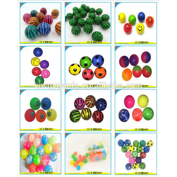 Hot Sell Various Design Promotion High Rubber Bouncing Ball Toy for Kid
