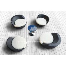 Outdoor Rattan Sofa Set für Garten / Wohnzimmer mit 4 Sitzer / SGS (1010-1)