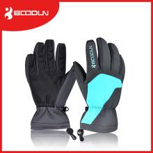 Advierta guantes de esquí personalizados mano de invierno manos para hombre y mujer