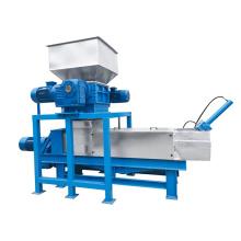 High quality herbal medicine dewatering machine/kitchen food waste dewaterer shredder/biomass sawdust dehydrator