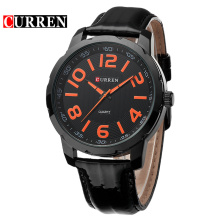 curren fashion luminous watch business style relógio de pulso