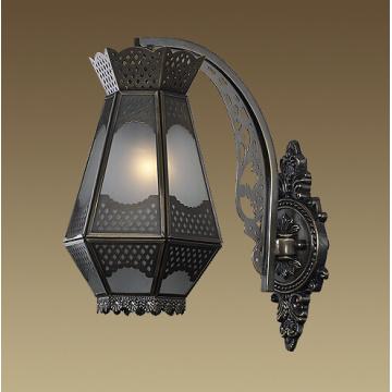 Arabic Style Brass Moroccan Wall Lighting (M0343-01B)