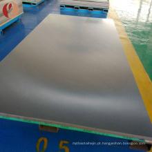 Placa redonda lustrada espessura do molibdênio de 3mm