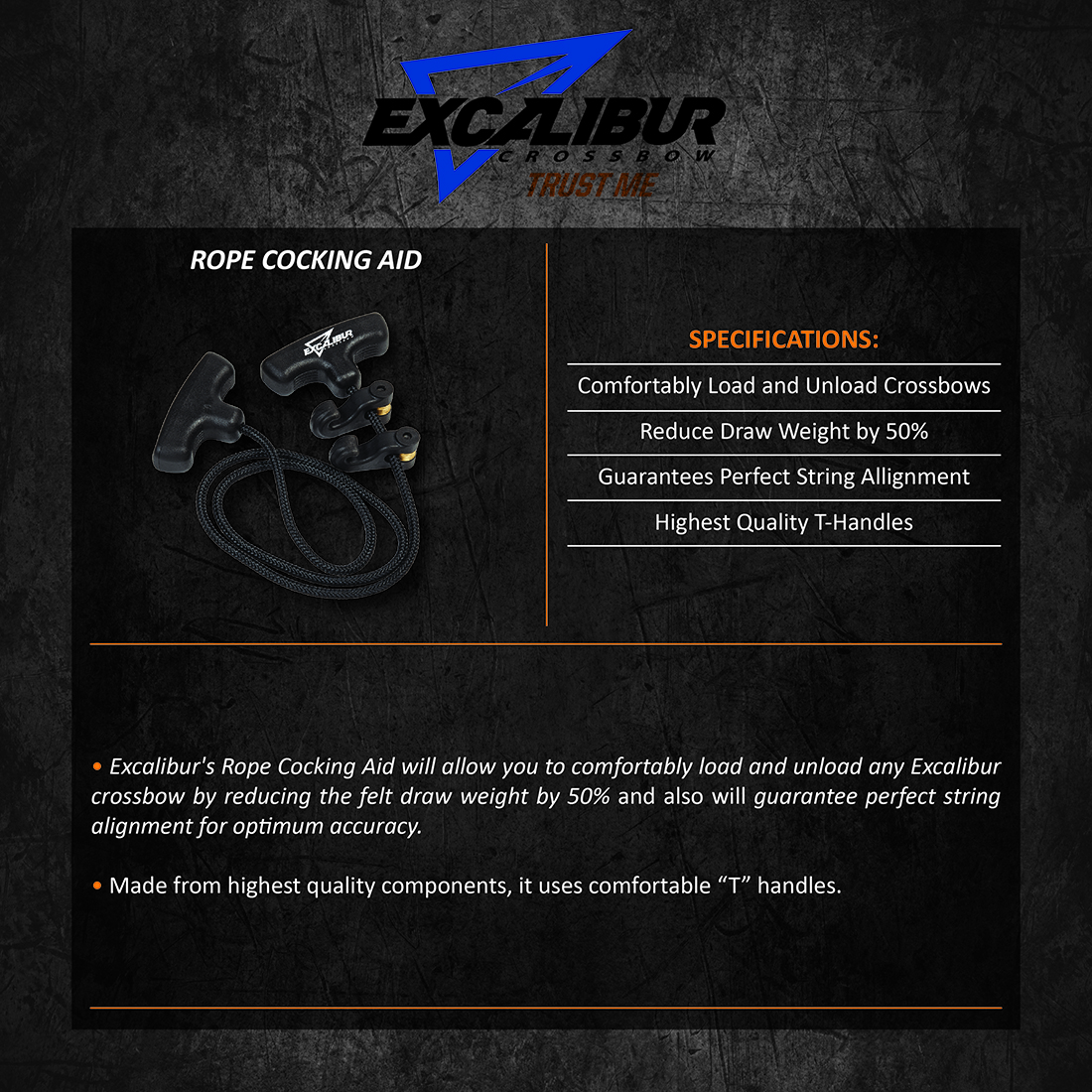 Excalibur_Rope_Cocking_Aid_Product_Description