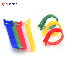 High reflective custom cross country hook and loop cable ties