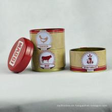 Bulk Tea Canisters, Tin Contenedor, Té de embalaje Caja de hojalata
