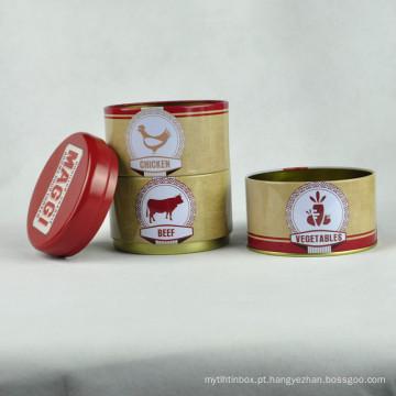 Caixas de chá a granel, recipiente de estanho, embalagem de chá, caixa de lata